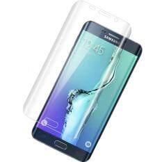 ขาย ฟิล์มกระจกเต็มจอ Curved Tempered Glass Screen Protector For Samsung Galaxy S6 Edge Plus ขอบโค้ง สีใส P One ถูก