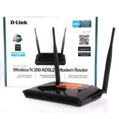 ราคา D Link Adsl Modem Router Dsl 2750E Wireless N300 ใหม่