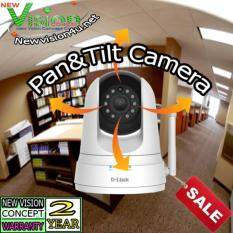 D-Link DCS-5000L Wi Fi Pan Tilt Day Night Camera