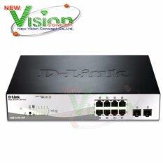 โปรโมชั่น D Link Dgs 1210 10P 8 Port Gigabit Poe Switch ถูก