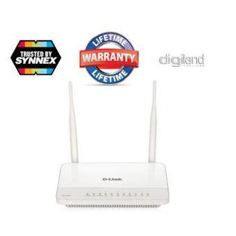 D-Link Dual Band Wireless N600 Gigabit ADSL2+ Modem Router รุ่น DSL-2544N -LifeTime (By SynnexDigiLand)