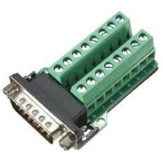 ราคา D Sub Db15 2Row 15Pin Male Plug Breakout Board Terminals Connectors Unbranded Generic เป็นต้นฉบับ