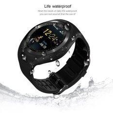 D08 กีฬา Bluetooth Smart Watch สำหรับ Android Wristwatch สมาร์ทนาฬิกา สีดำ Intl ใหม่ล่าสุด
