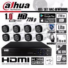 ซื้อ ชุดกล้องวงจรปิด Dahua 1 0Mp Hd 720P ทรงกะบอก รุ่น Hac Hfw1000R 8 ตัว พร้อมเครื่องบันทึก 8 Ch 5 In 1 Full Hd 1080P 4K Dvr รองรับ 5ระบบในเครื่องเดียว Ahd Cvi Tvi Ip Analog กรุงเทพมหานคร