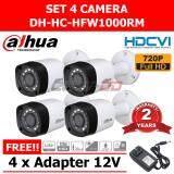 ราคา Dahua Hfw1000Rm Fix Ir Camera 1Mega Pixel Hd Cvi 4 ตัว สีขาว เป็นต้นฉบับ