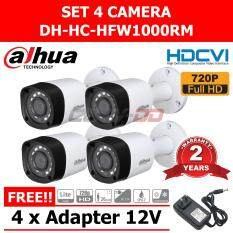 Dahua HFW1000RM FIX IR Camera 1Mega Pixel. HD-CVI 4 ตัว ( สีขาว )