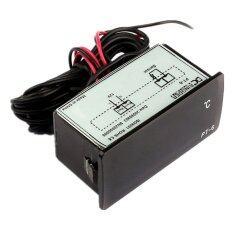 ราคา Dc 12 V 50 ถึง 110องศาเซลเซียสอุณหภูมิเครื่องวัดอุณหภูมิแบบ Ledปัญญาอ่อน สีดำ Unbranded Generic ออนไลน์