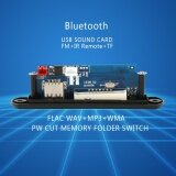 Dc 12V Bluetooth Mp3 Decoder Board Audio Module Usb 3 5Mm Aux Tf Fm Radio Flac Wav Wma Mp3 Intl สมุทรปราการ