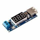10 PCS DC-DC 4.5-40V To 5V 2A USB Charger Step down Converter Voltmeter Module