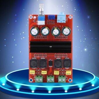 DC12-24V High Power 2*100W Dual Channel Digital Amplifier Audio Board Stereo Amp - intl