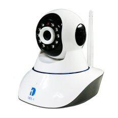 Dee-1-กล้องวงจรปิดWireless WiFi IP Camera-รุ่น Angle 720P P2P WiFi-(white)