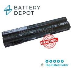 ราคา Dell แบตเตอรี่ ของแท้ Latitude E5420 รุ่น T54Fj 65Wh Battery Notebook แบตเตอรี่โน๊ตบุ๊ค Latitude E5430 E5520 E5530 E6420 E6430 E6520 E6530 Series Prrrf Prv1Y T54F3 ใหม่ ถูก