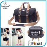โปรโมชั่น กระเป๋ากล้อง Digital Dslr Soudelor 5014M By 9Final Professional Dslr Camera Bag สีดำ M Size Soudelor ใหม่ล่าสุด
