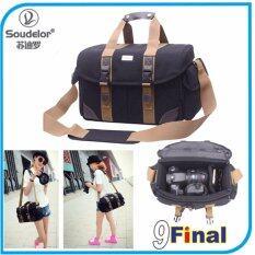 ขาย กระเป๋ากล้อง Digital Dslr Soudelor 5014M By 9Final Professional Dslr Camera Bag สีดำ M Size ผู้ค้าส่ง