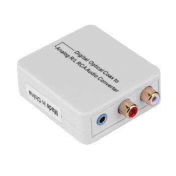 โปรโมชั่น Digital Optical Toslink Coax to Analog R/L/RCA 3.5
