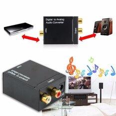 ราคา Digital Optical Toslink Signal To Analog Audio Converter Adapter 3 5Mm 5W Intl ที่สุด