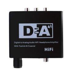 ขาย Digital Optical Coaxial Analog Audio Optical Coaxial Audio Converter Black Eu Intl Vktech ผู้ค้าส่ง