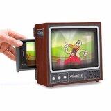 ขาย Diy Mini Vintage Tv Mobile Phone Magnifier Smart Phone Projector Brown Intl Thailand ถูก