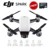 ขาย Dji Spark Stand Alone Drone White โดรนถ่ายภาพขนาดเล็ก สั่งงานด้วยท่าทาง สีขาว แถมฟรี Sandisk 32 Gb กรุงเทพมหานคร