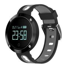 ขาย Dm58 Bluetooth 4 Smart Watch Heart Rateblood Pressure Fitness Tracker Ip68 Waterproof Sports Watch For Ios Android Intl ถูก จีน