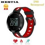 ราคา Dm58 Smart Band Heart Rate Blood Pressure Watch Ip68 Waterproof Sports Bracelet Smart Wristband Fitness Tracker Pk Mi Band Watch Intl ที่สุด