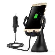 ซื้อ Dodocool 10W Fast Charge Wireless Car Charger Air Vent Suction Mount Usb Power Adapter 1 5M Charging Cable For Samsung Galaxy S8 S8 S7 S7 Edge Note5 S6 Edge Plus Compatible With Qi Enabled Devices Black Intl Dodocool เป็นต้นฉบับ