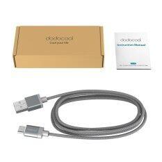 ทบทวน Dodocool Usb If Certified 3 3Ft 1M Nylon Braided Usb C To Usb A 2 Cable Charge And Data Sync For Devices With Usb C Connection Grey Intl Unbranded Generic