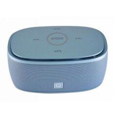 ราคา Doss ลำโพงบลูทูธ Bluetooth Speaker รุ่น Ds 1190 สีฟ้า ออนไลน์