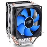 Double Fan Cpu Cooler Fan Double Heatpipe Aluminum Heat Sink Cooling Fan Radiator For Lga1156 775 1150 1155 1151 Intl ใน จีน