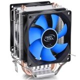 ขาย ซื้อ ออนไลน์ Double Fan Cpu Cooler Fan Double Heatpipe Aluminum Heat Sink Cooling Fan Radiator For Lga1156 775 1150 1155 1151 Intl