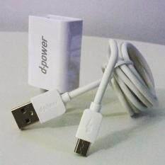 ราคา Dpower Power Adapter ชุดชาตทศสาย Mico Usb 1 2M หัวชาต 1 5Aรุ่นAu01M สีขาว ออนไลน์
