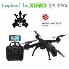 ซื้อ Drone โดรน Jd10 Wifi ที่มีแรงบันดาลใจมาจาก Xiro Explorer ที่ได้รับรางวัลโดรนยอดเยี่ยม Red Dot 2016 สามารถวาดเส้นทางการบินได้ Wifi Fpv 720P Hd พร้อมระบบถ่ายทอดสดแบบ Realtime ดูผ่านมือถือ มีระบบ ล็อกความสูง ปุ่มบินกลับ