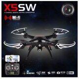 ราคา Drone Syma Fpv Wifi Drone Quadcopter รุ่น X5Sw โดรนติดกล้อง ส่งภาพเข้ามือถือ บันทึกภาพได้ สีขาวหรือสีดำ ออนไลน์