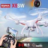 ทบทวน ที่สุด Drone Syma Fpv Wifi Quadcopter รุ่น X5Sw โดรนติดกล้อง บันทึกภาพวีดีโอ ส่งภาพเข้ามือถือ บินนิ่งที่สุด