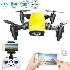 ซื้อ Drone Zelfi Mini โดรน เซลฟี่ มินิ โดรนติดกล้อง Wifi Hd Camera สั่งงานด้วยเสียง วาดเส้นทางการบินได้ มีระบบ ล็อกความสูง เครื่องบินบังคับวิทยุ Drone