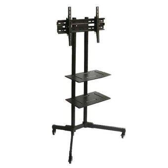 DRTech IDA-SET001 TV Stand ขาตั้งทีวี ขนาด 32 - 55'' โชว์สินค้า เคลื่อนที่ได้ แบบมี 2 ถาด รุ่น ST200 (สีดำ)