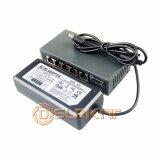 ราคา Dslrkit 250M 5 Ports 4 Poe Switch Injector Power Over Ethernet 52V 75W Max 90W Power Adapter Intl ใน จีน