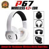 ราคา Dt หูฟังบลูทูธ หูฟังไร้สาย Bluetooth Headphone Stereo รุ่น P67 Dt เป็นต้นฉบับ