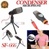ขาย Dt Microphone Condenser Sf 666 Wired Stereo Audio Professional Condenser Microphone With Holder Clip Studio Sound Recording Shock Mount For Pc Laptop Intl Dt เป็นต้นฉบับ