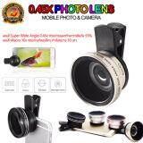 ขาย Dt เลนส์ครอบกล้องมือถือ Super Wide Macro สำหรับถ่ายภาพ Selfy 45X Dt เป็นต้นฉบับ