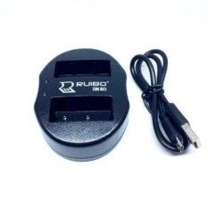 ขาย Dual Charger Np W126 แท่นชาร์จแบตกล้องแบบคู่ ชาร์จทีละ2ก้อน Usb Dual Battery Charger For Fujifilm Rechargeable Li Ion Batteries Np W126 กรุงเทพมหานคร
