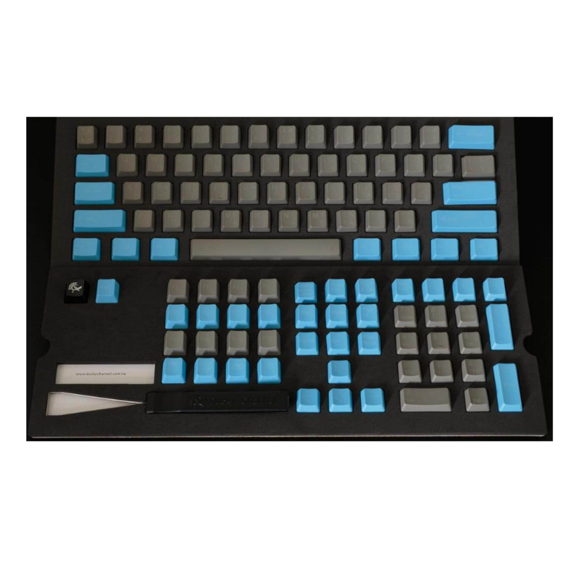DUCKY KEY CAP S9C3-S108-THPTZ1 ( PBT/US/TH ) ปุ่มสีฟ้า