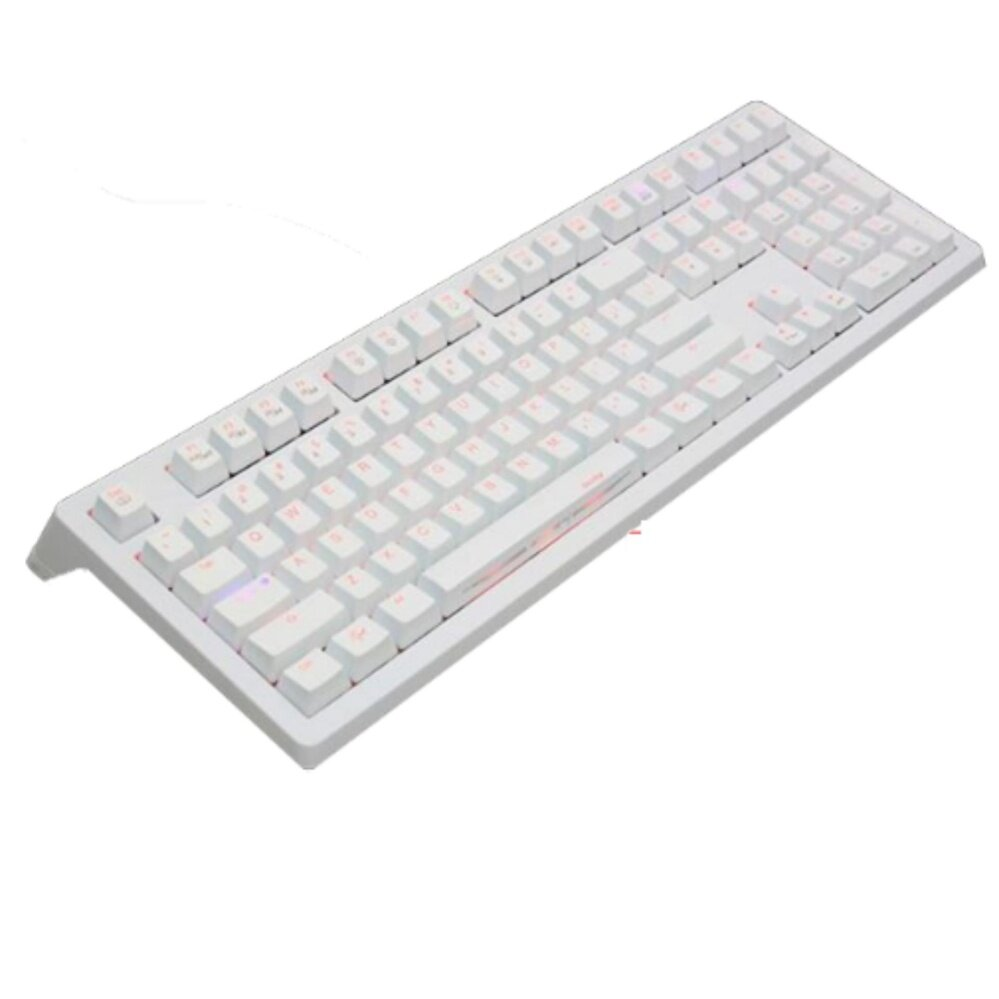 DUCKY SHINE4 KEYBOARD DKSH1408SD-RTHALWWBR1 WHITE / RED SW