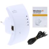 ราคา ดูดสัญญาณ Wifi ง่ายๆ แค่เสียบปลั๊ก Best Wireless N Router 300Mbps Universal Wifi Range Extender Repeater High Speed White ออนไลน์