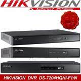 โปรโมชั่น เครื่องบันทึกกDvr 4 ช่อง Hikvision Hdtvi 1080P รุ่น Ds 7204Hqhi F1 N Hikvision ใหม่ล่าสุด