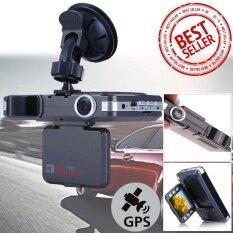 กล้องติดรถ+กล้องรถจับความเร็ว DVR  GPS VGR HD