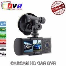 DVR   R300 กล้องติดรถยนต์ หน้าหลัง1M Dual Camera Full HD G-Sensor 2.7
