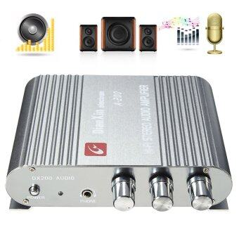 DX A-200 200W 12V Car Home Computer Two-Channel Base Stereo Mini-HIFI Amplifier (British Regulations) - intl
