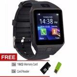 ส่วนลด Dz09 Bluetooth Digital Smart Watch Wearables Smartwatch With Hands Free Call Built In Camera Bluetooth Connect Intl Dz09