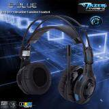 ราคา ใส่โค้ด Rodja40 ลดเพิ่มอีก 40 E Blue หูฟังเกมมิ่ง Mazer Vibrating Ehs 919 Headset Gaming สีดำ ราคาถูกที่สุด